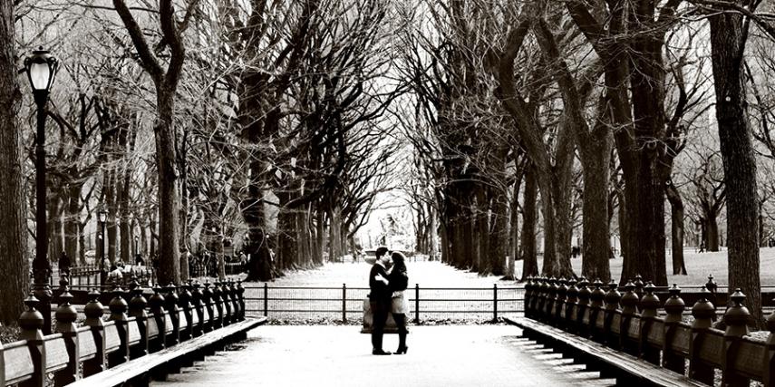 Romantic winters of New York