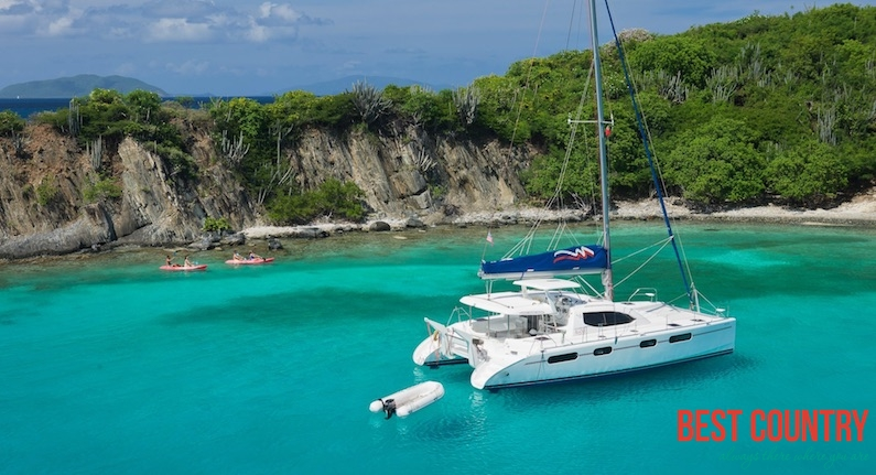 На яхте по Сейшельским островам....