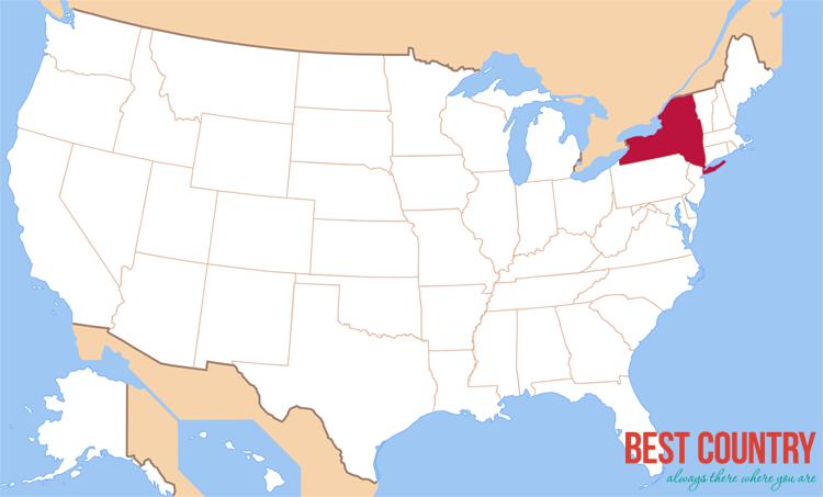 Штат Нью-Йорк в США