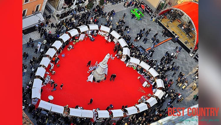 Valentine's Day in Italy