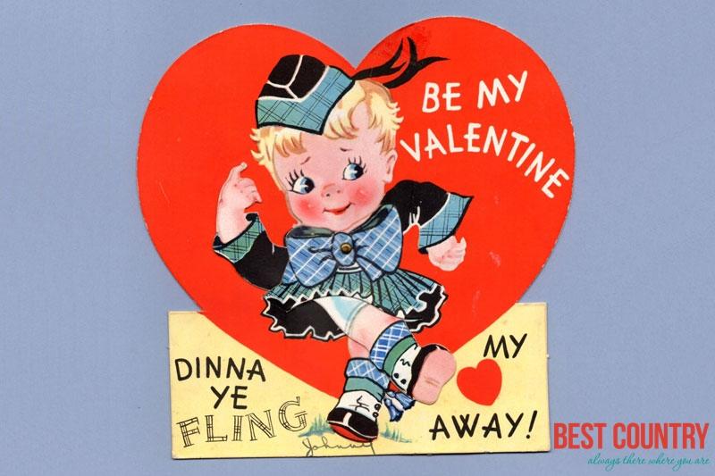 Valentines Day in Scotland