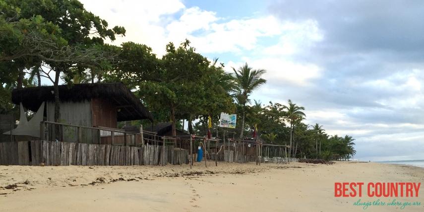 ВИДЕО: Бразилия (Штат Баия): Город Арраял д'Ажура - Пляж