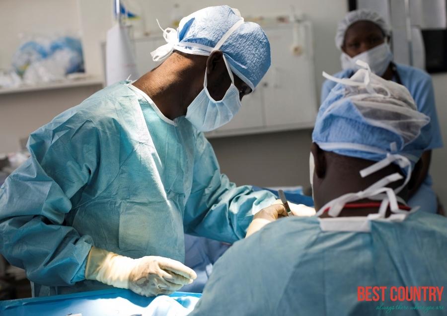 Состояние медицины в Кении
