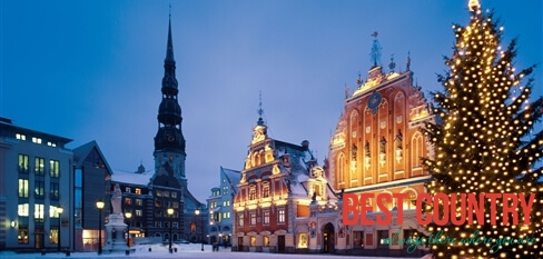 New Year in Latvia