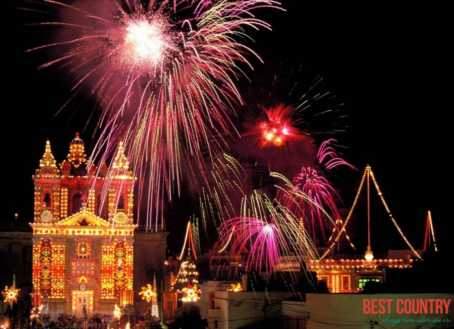 Новый год на Мальте