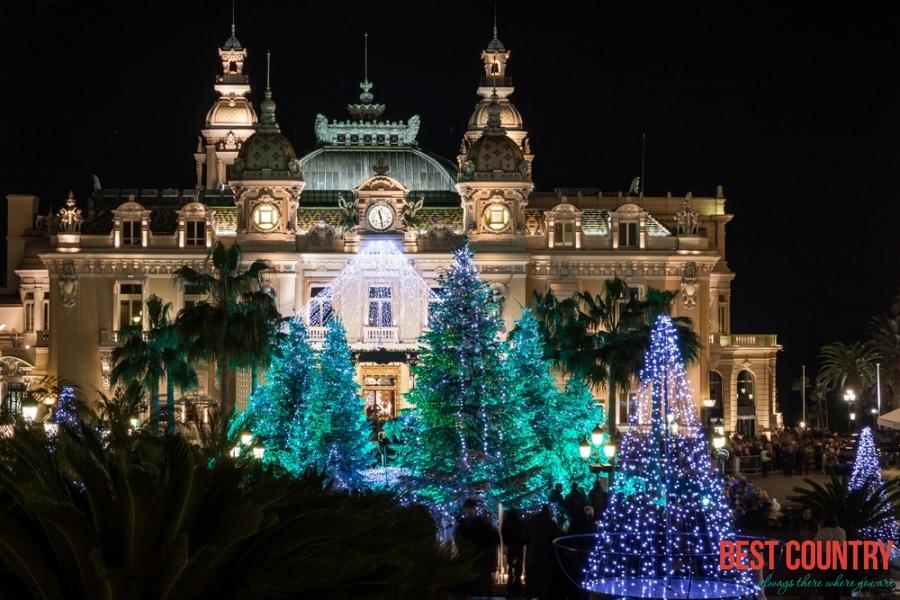 Рождественские праздники в Монако