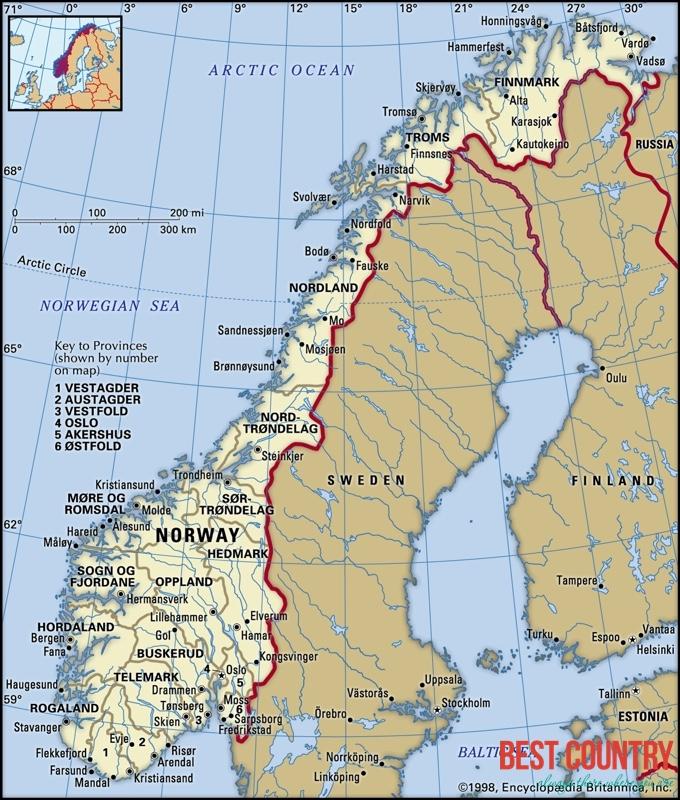 География Норвегии
