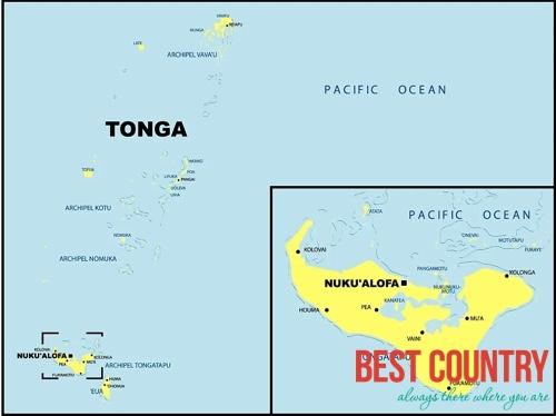География Тонги