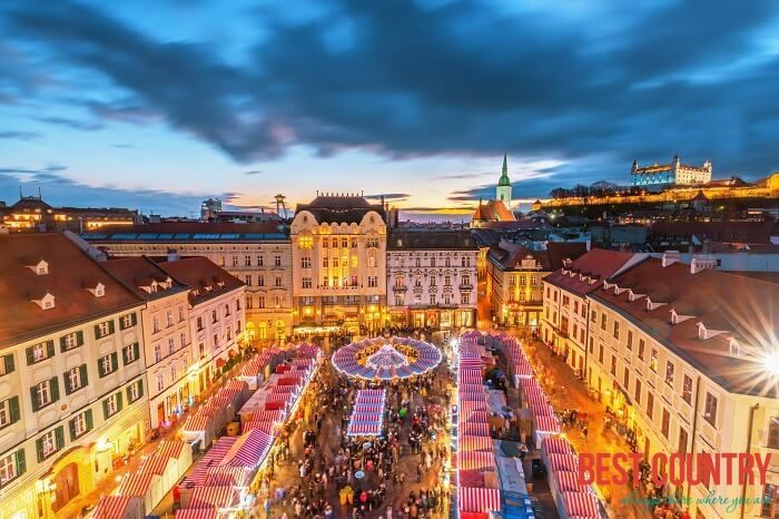 Как встречают рождество в Словакии