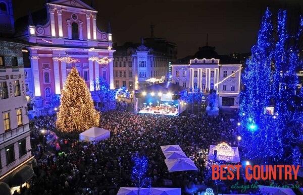 New Year's Eve in Ljubljana