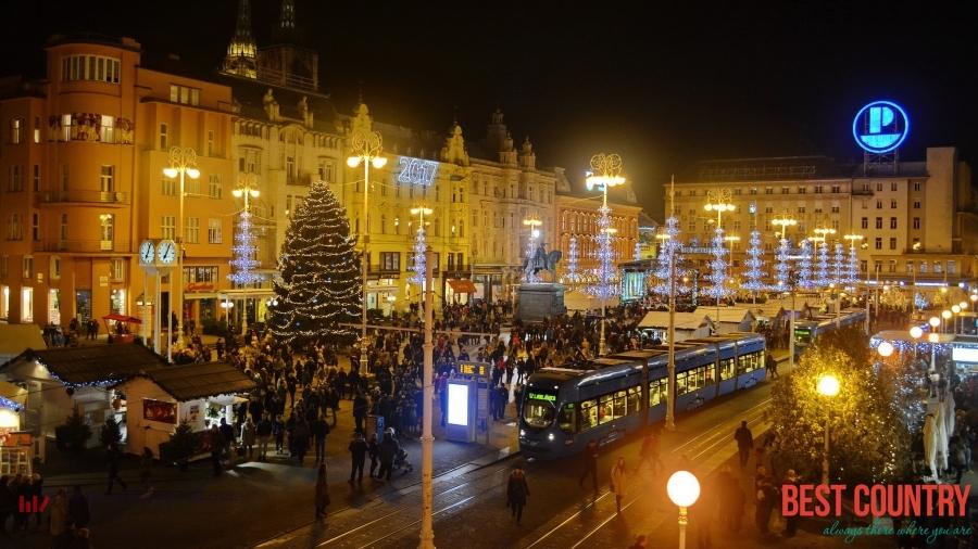 New Year in Croatia