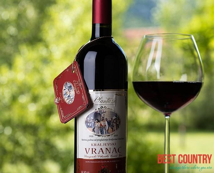Vranac, black wine