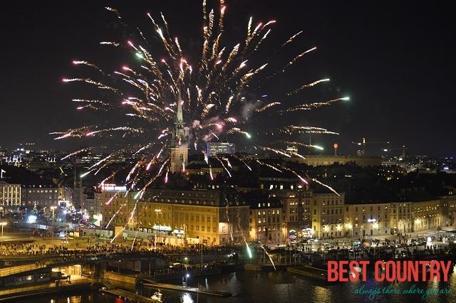 Новый год в Швеции