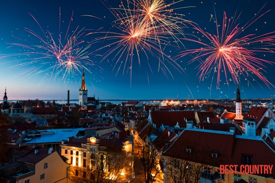 New Year's Eve in Estonia