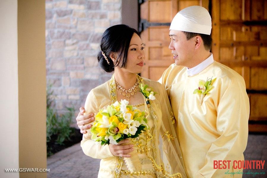 Свадебные традиции Мьянмы