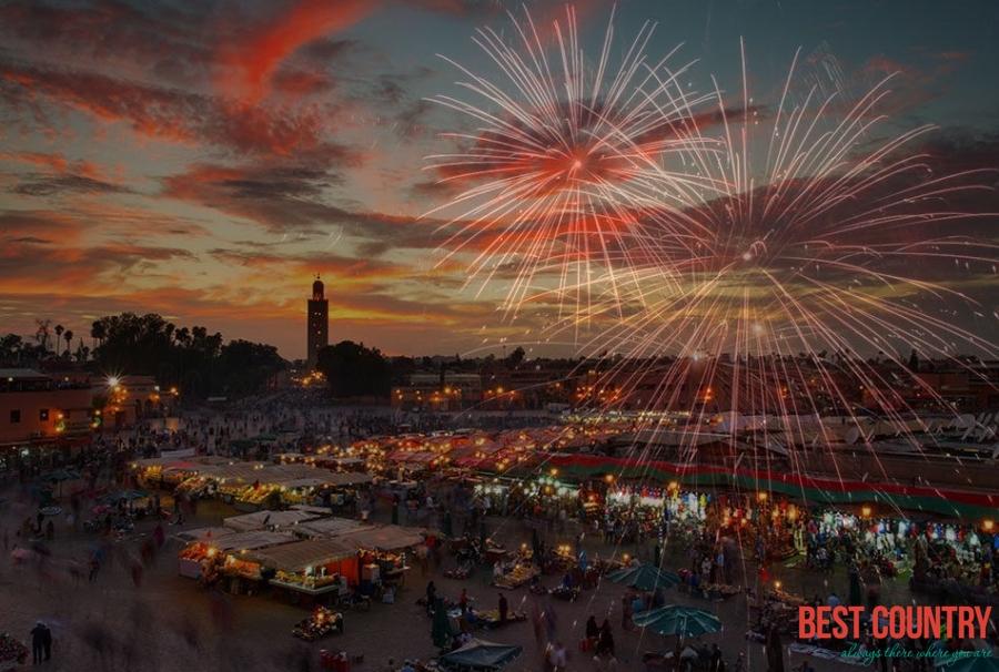 Новый год в Марокко