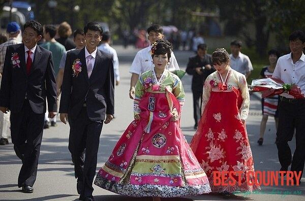 Свадьба в Северной Корее