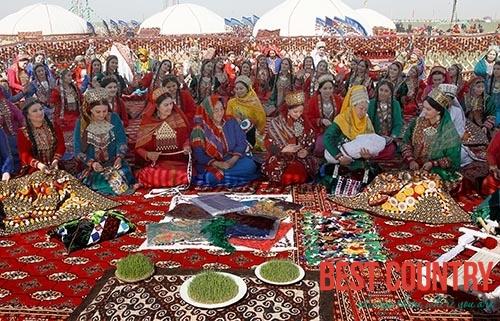 Nowruz Bayram in Turkmenistan
