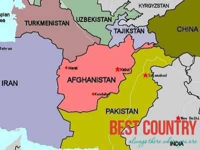 География Афганистана
