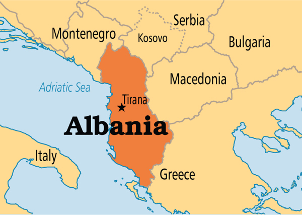 Geography of Albania