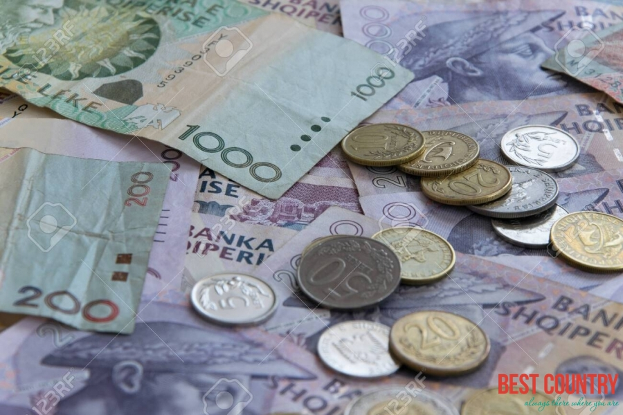 Money in Albania