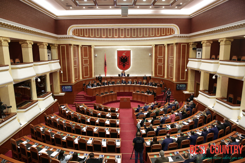 Political structure of Albania