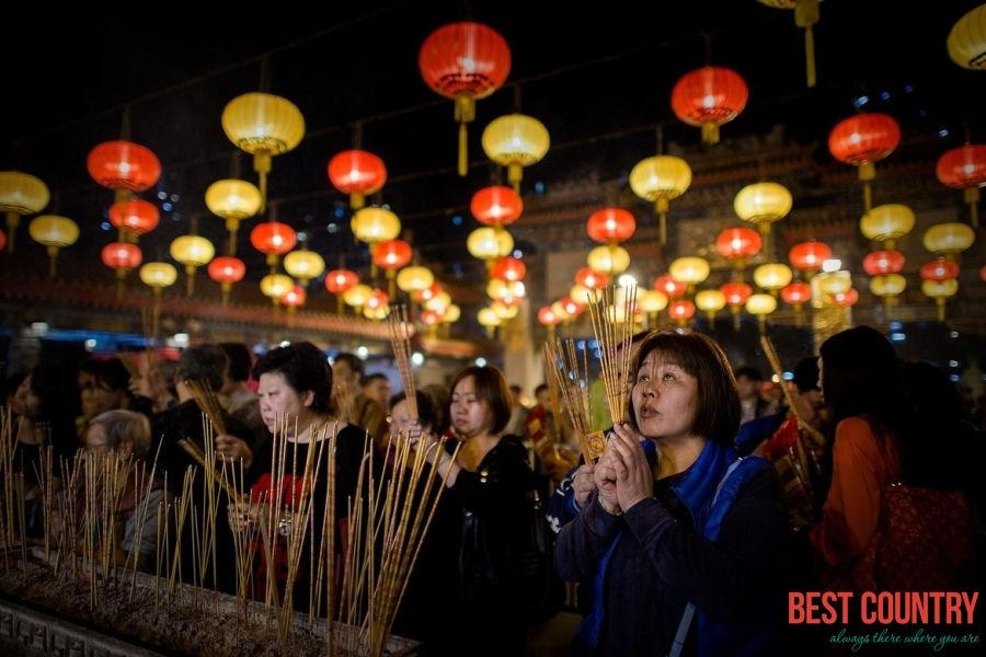 Western New Year in Hong Kong