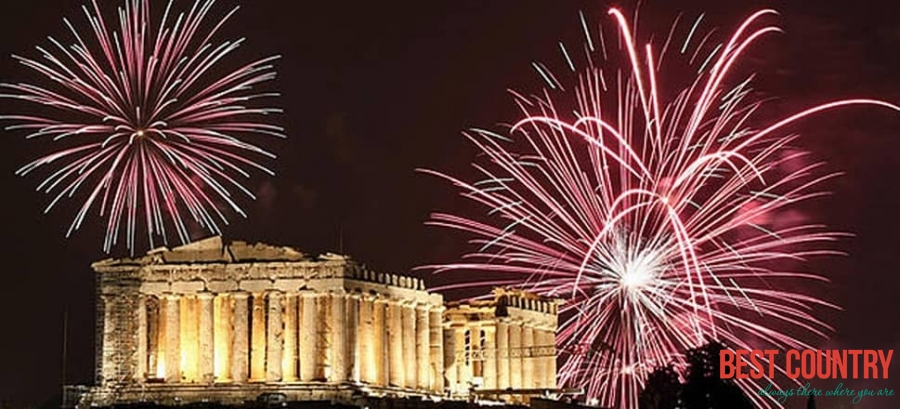 New Year in Greece