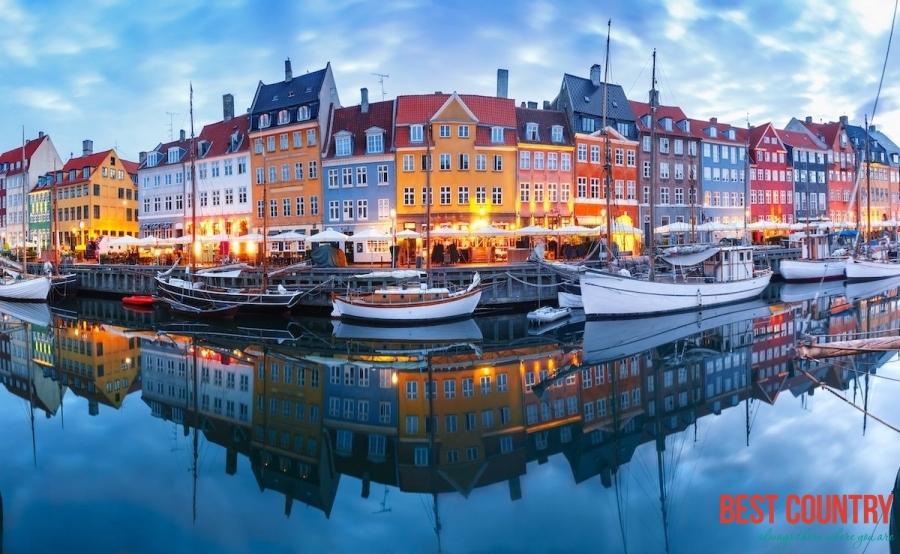 Copenhagen, the capital of Denmark