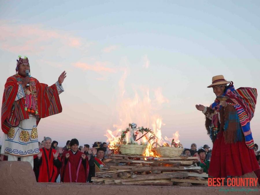 Новый год в Боливии