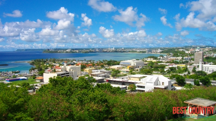 Hagåtña is the capital of the United States territory of Guam
