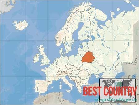 Географическое положение Беларуси