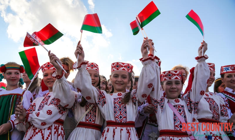 Belarus language and Population
