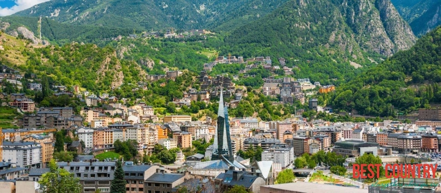 Andorra la Vella is the capital of Andorra