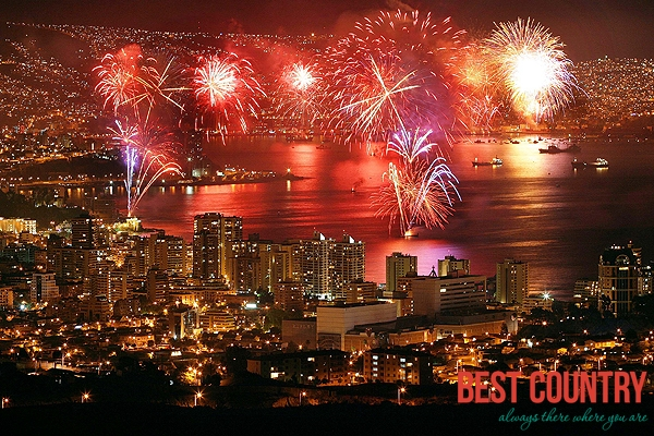 New Years Eve in Chile