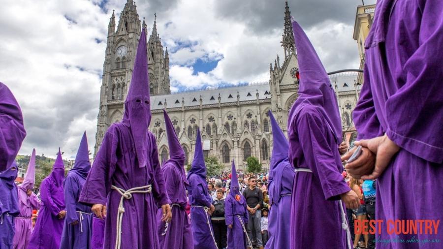 Великдень в Еквадорі