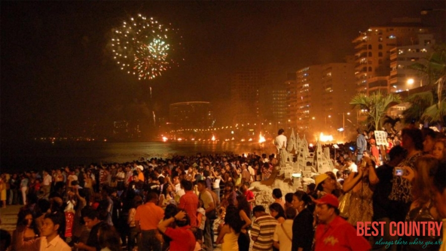New year in Ecuador