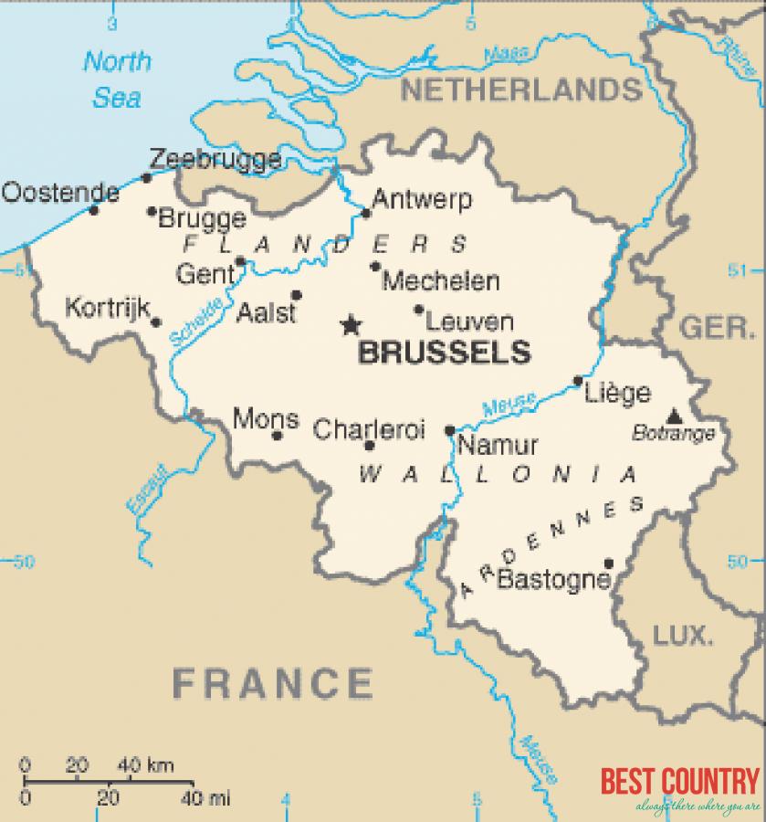 Geography of Belgium