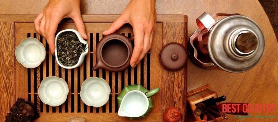 Чай и кофе в Китае