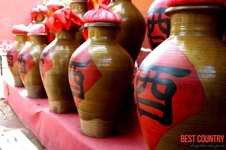 Алкогольные напитки Китая