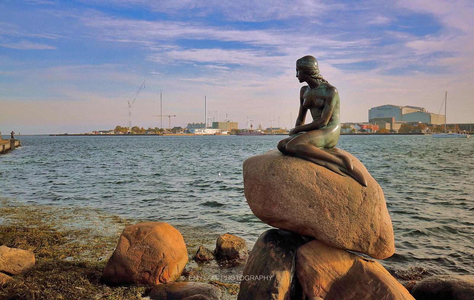 Скульптура Русалочки