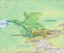 Реки и озёра Казахсана